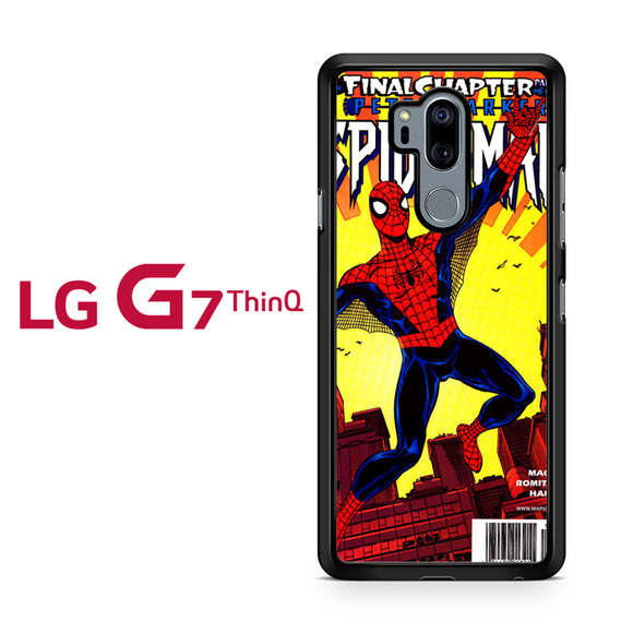 Spiderman Marvel Comic Cover 1, LG G7 ThinQ Case, Tatumcase