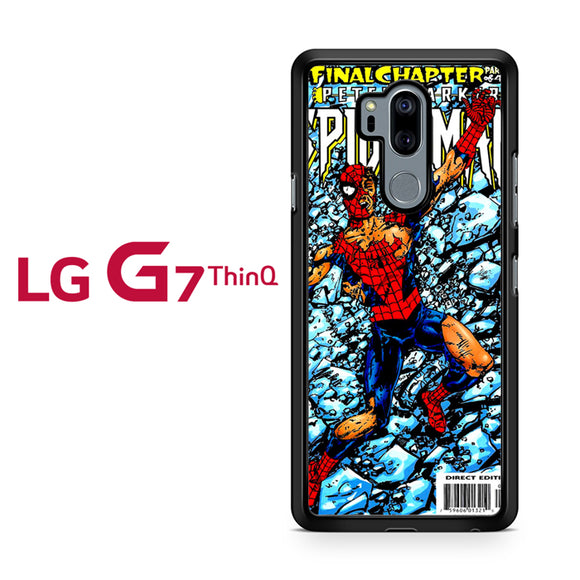 Spiderman Marvel Comic Cover 2, LG G7 ThinQ Case, Tatumcase
