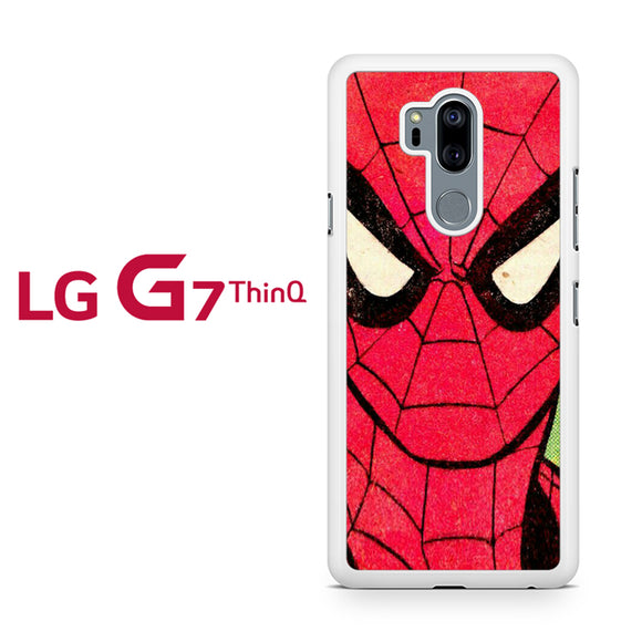 Spiderman as Peter Parker, LG G7 ThinQ Case, Tatumcase