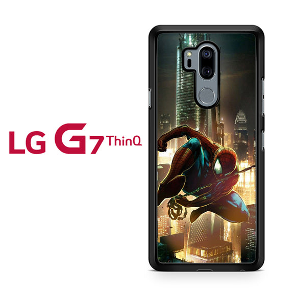 Spiderman civilwar, LG G7 ThinQ Case, Tatumcase