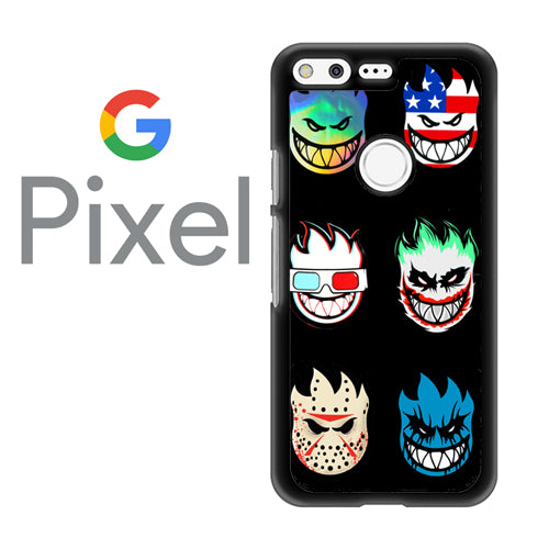 Spitfire Faces Skateboard  - Google Pixel Case Tatumcase