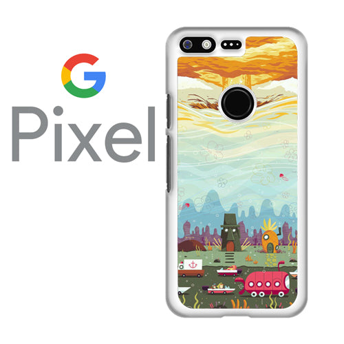 Spongebob Arts  - Google Pixel Case Tatumcase
