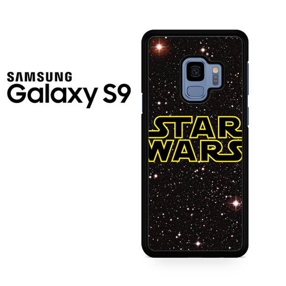 Star Wars Galaxy Logo - Samsung Galaxy S9 Case - Tatumcase