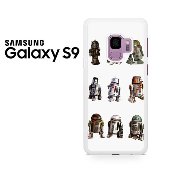 Star wars R Droid - Samsung Galaxy S9 Case - Tatumcase