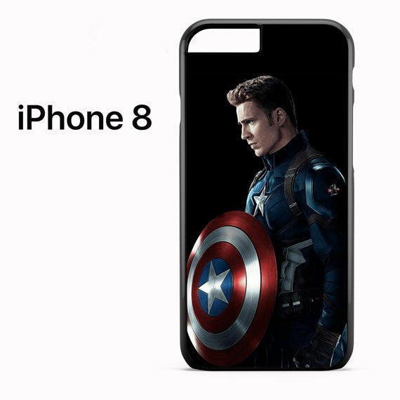 Steve Roger as Captain America GT - iPhone 8 Case - Tatumcase