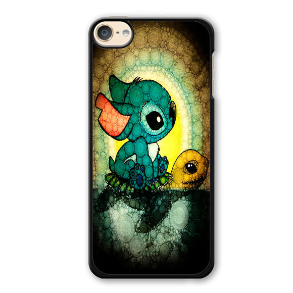 Stitch A Lone On Turtle Phonecase Cover Case For Apple Ipod 4 Ipod 5 Ipod 6
