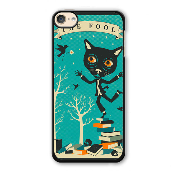 Tarot Card Catthe Fool Phonecase Cover Case For Apple Ipod 4 Ipod 5 Ipod 6