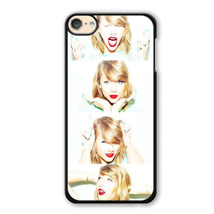 Taylor Swift Making Face Collage Phonecase Cover Case For Apple Ipod 4 Ipod 5 Ipod 6
