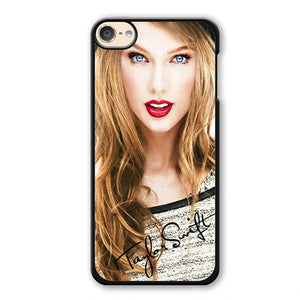 Taylor Swift Red Lips Phonecase Cover Case For Apple Ipod 4 Ipod 5 Ipod 6