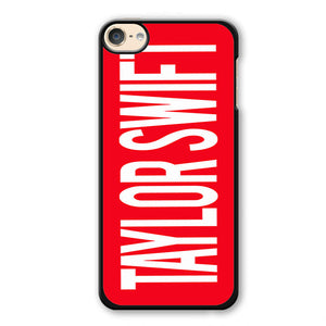 Taylor Swift Red Name Phonecase Cover Case For Apple Ipod 4 Ipod 5 Ipod 6