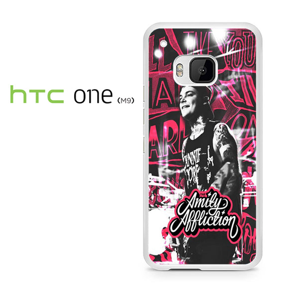 The Amity Affliction Pink TY - HTC M9 Case - Tatumcase