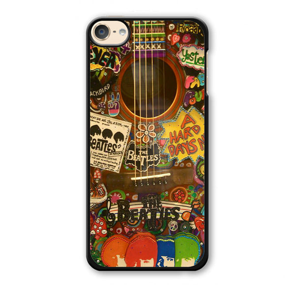 The Beatles Guitar Phonecase Cover Case For Apple Ipod 4 Ipod 5 Ipod 6