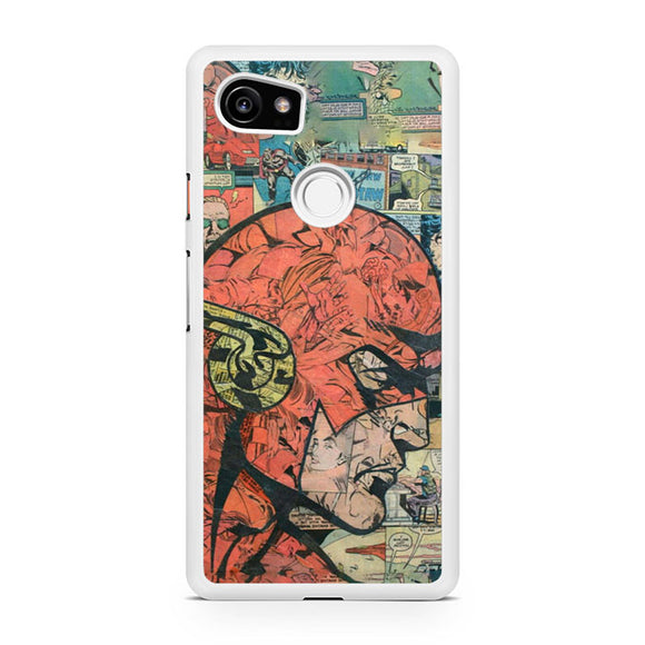 The Flash Comic Pattern YT, Custom Phone Case, Google Pixel 2 XL Case, Pixel 2 XL Case, Tatumcase