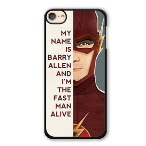 The Flash Quotes Phonecase Cover Case For Apple Ipod 4 Ipod 5 Ipod 6
