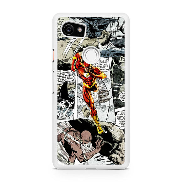The Flash in Comic - Z, Custom Phone Case, Google Pixel 2 XL Case, Pixel 2 XL Case, Tatumcase