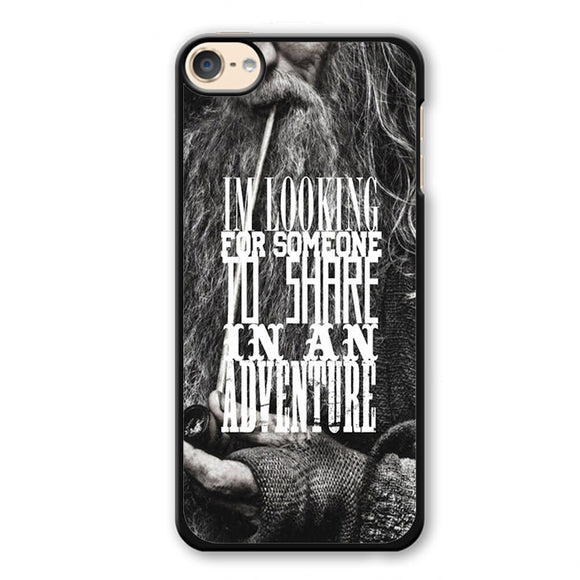 The Hobbit Gandalf Quote Phonecase Cover Case For Apple Ipod 4 Ipod 5 Ipod 6