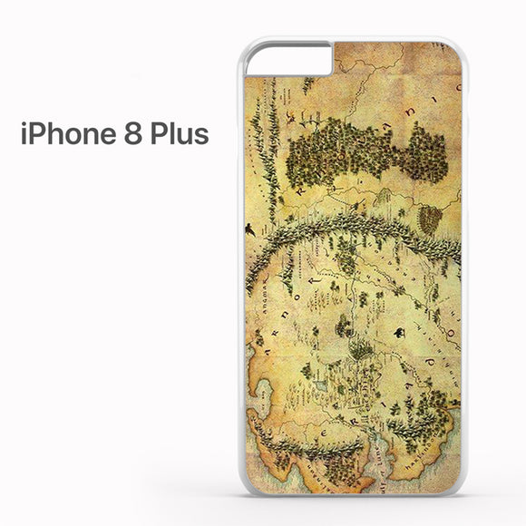 The Hobbit Journey Map - iPhone 8 Plus Case - Tatumcase