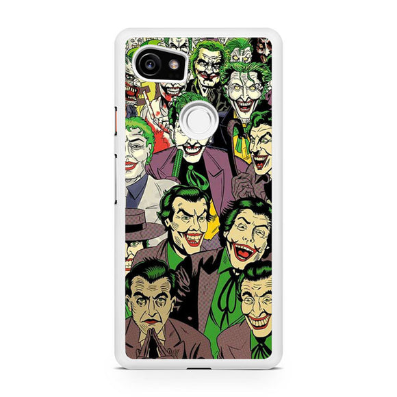 The Joker Collages T, Custom Phone Case, Google Pixel 2 XL Case, Pixel 2 XL Case, Tatumcase
