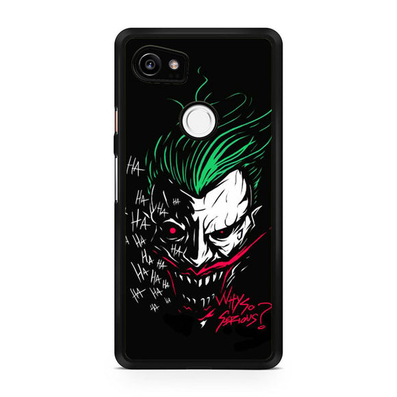 The Joker Why so Serious GT, Custom Phone Case, Google Pixel 2 XL Case, Pixel 2 XL Case, Tatumcase