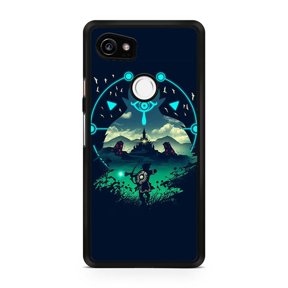 The Legend of Zelda Breath of the Wild 2 AA, Custom Phone Case, Google Pixel 2 XL Case, Pixel 2 XL Case, Tatumcase