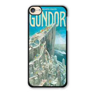 The Lord Of The Rings Gondor Phonecase Cover Case For Apple Ipod 4 Ipod 5 Ipod 6