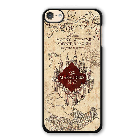 The Marauders Mao Harry Potter Phonecase Cover Case For Apple Ipod 4 Ipod 5 Ipod 6