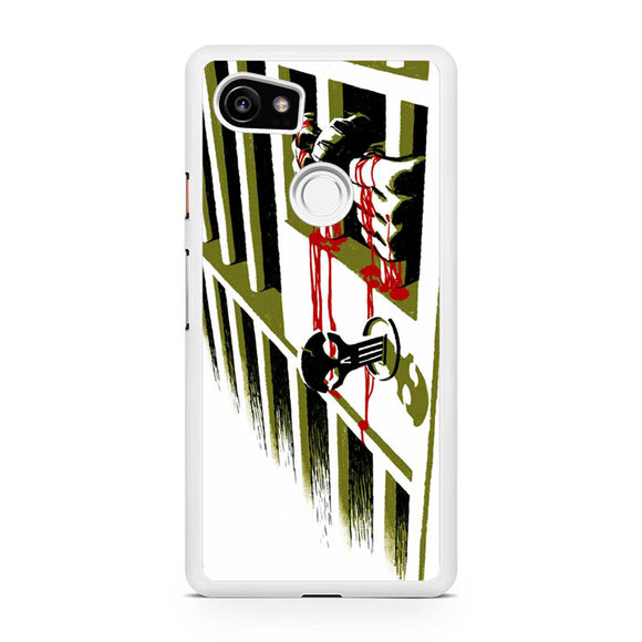 The Punisher at Jail GT, Custom Phone Case, Google Pixel 2 XL Case, Pixel 2 XL Case, Tatumcase