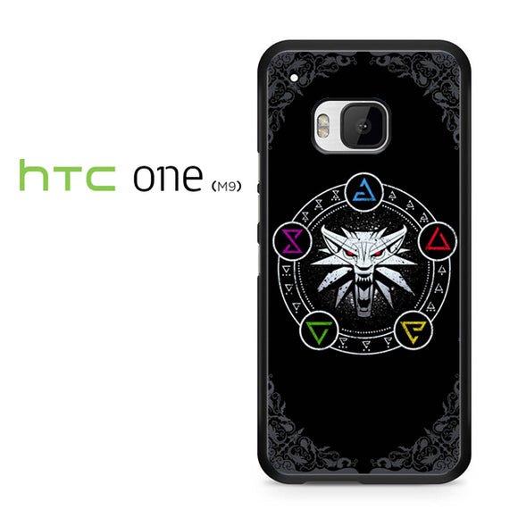 The Witcher Cool Logo AB - HTC M9 Case - Tatumcase