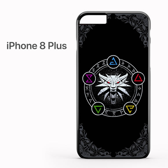 The Witcher Cool Logo AB - iPhone 8 Plus Case - Tatumcase