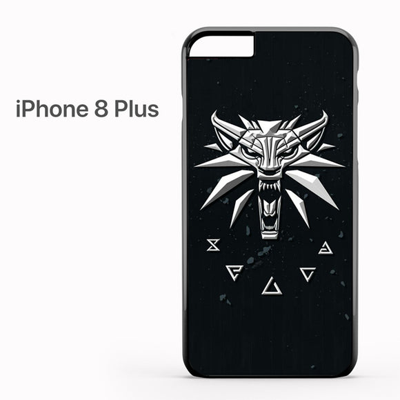 The Witcher Logo AB - iPhone 8 Plus Case - Tatumcase