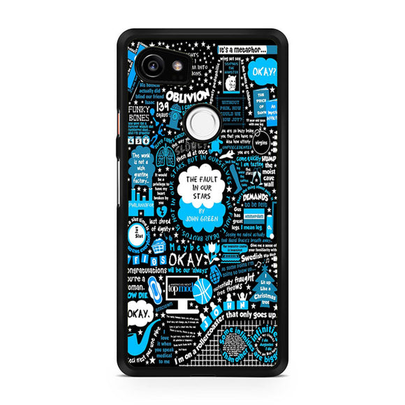 The fault in our stars collage, Custom Phone Case, Google Pixel 2 XL Case, Pixel 2 XL Case, Tatumcase