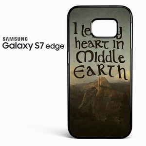 The lord of the rings Middle Earth Quotes - Samsung Galaxy S7 Edge Case - Tatumcase
