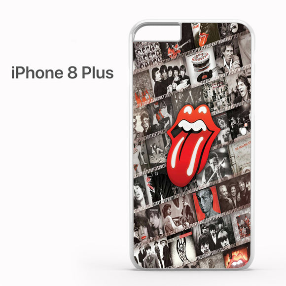 The rolling stones photo logo - iPhone 8 Plus Case - Tatumcase