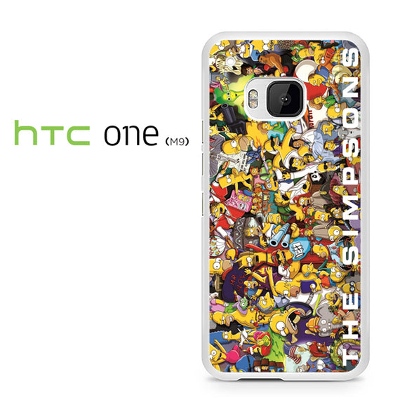 The simpsons the poster - HTC M9 Case - Tatumcase