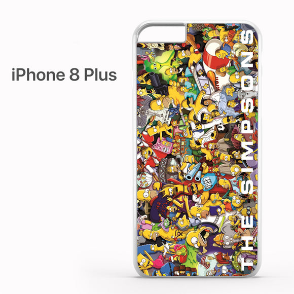The simpsons the poster - iPhone 8 Plus Case - Tatumcase