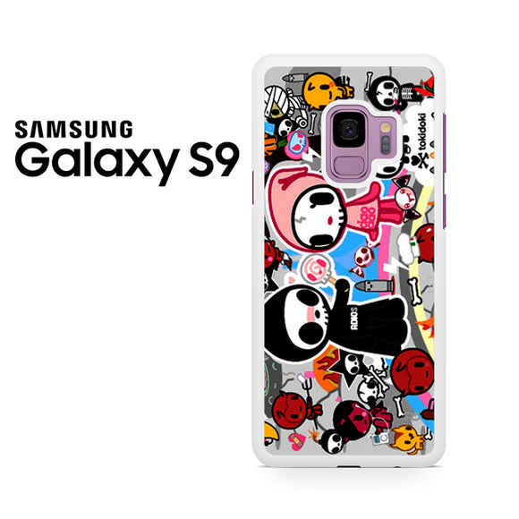 Tokidoki Skull - Samsung Galaxy S9 Plus Case - Tatumcase