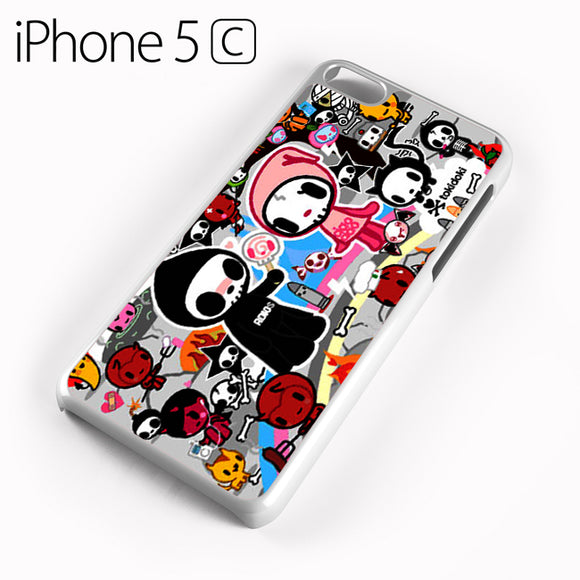 Tokidoki Skull - iPhone 5C Case - Tatumcase