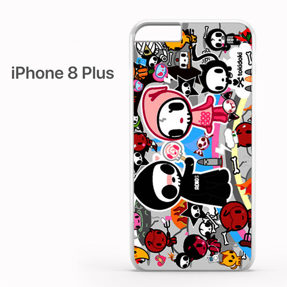 Tokidoki Skull - iPhone 8 Plus Case - Tatumcase