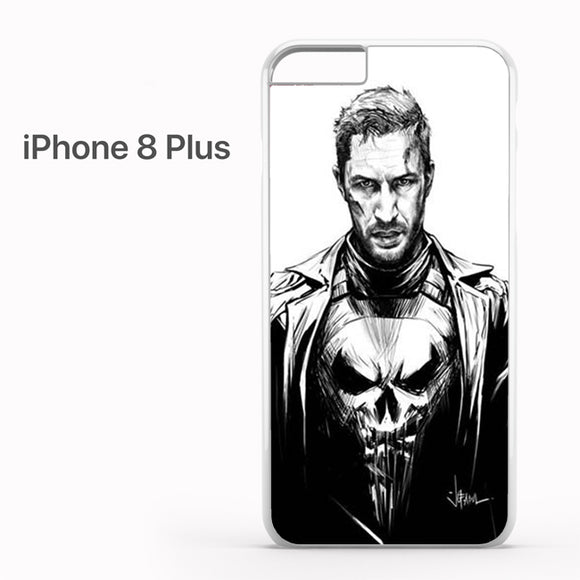 Tom Hardy as The Punisher - iPhone 8 Plus Case - Tatumcase