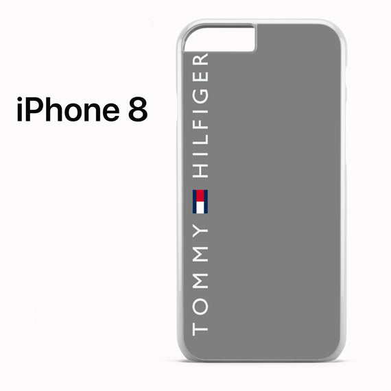Tommy Hilfiger Grey - iPhone 8 Case - Tatumcase