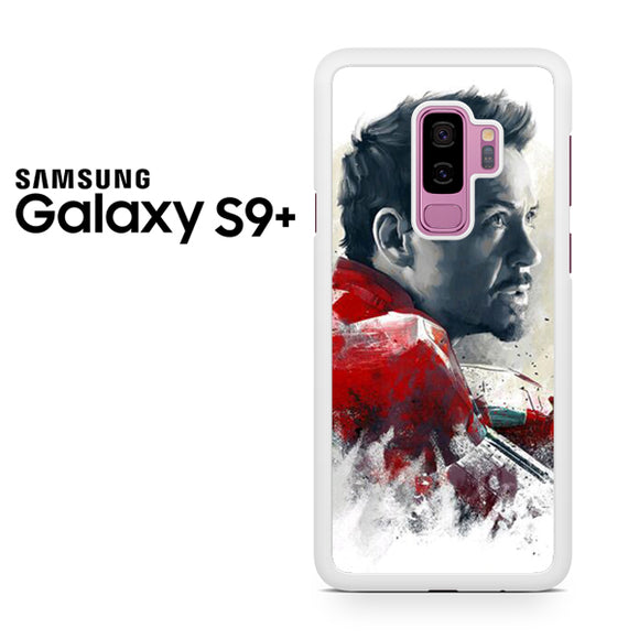 Tony Stark as Iron Man - Z - Samsung Galaxy S9 Plus Case - Tatumcase