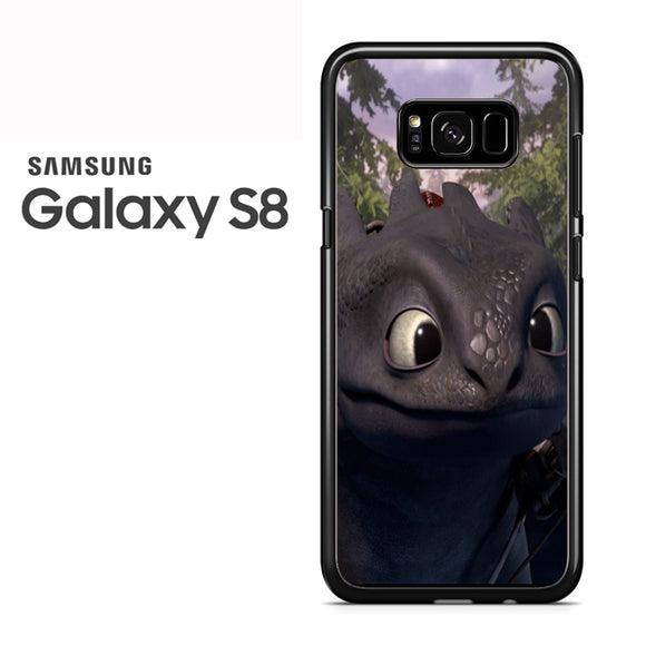 Toothless Cute Face TY - Samsung Galaxy S8 Case - Tatumcase