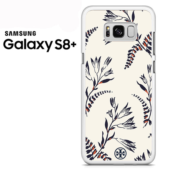 Tory Burch Floral Pattern - Samsung Galaxy S8 Plus Case - Tatumcase