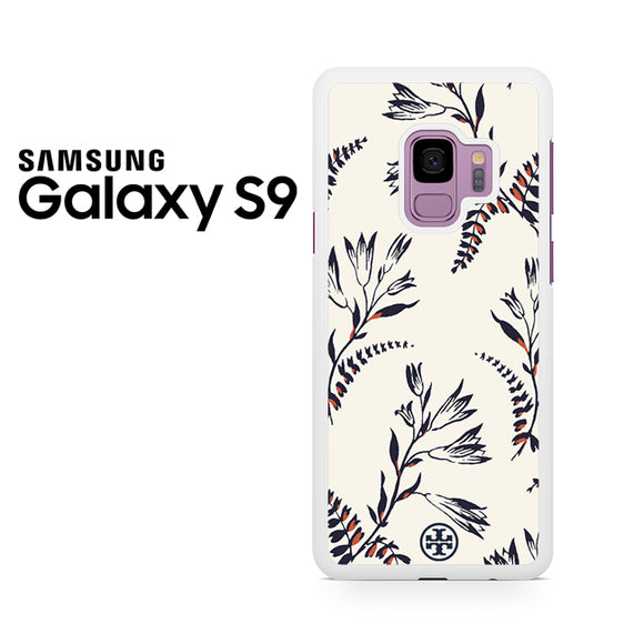 Tory Burch Floral Pattern - Samsung Galaxy S9 Plus Case - Tatumcase