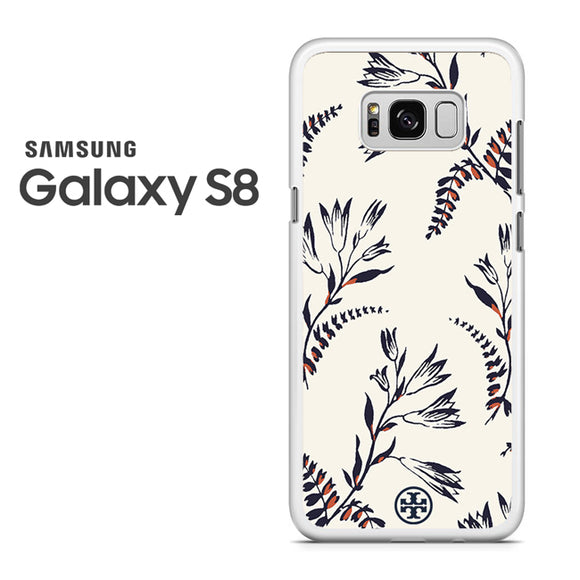 Tory Burch Floral Pattern - Samsung Galaxy S8 Case - Tatumcase