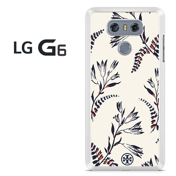 Tory Burch Floral Pattern - LG G6 Case - Tatumcase