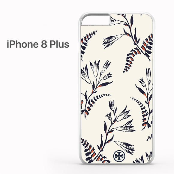 Tory Burch Floral Pattern - iPhone 8 Plus Case - Tatumcase