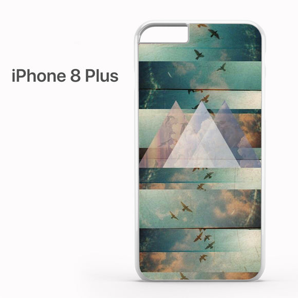 Tri Triangle Hipster - iPhone 8 Plus Case - Tatumcase