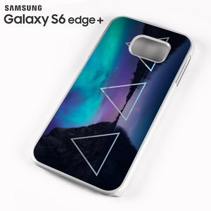 Triple Triangle Landscape - Samsung Galaxy S6 Edge Plus Case - Tatumcase