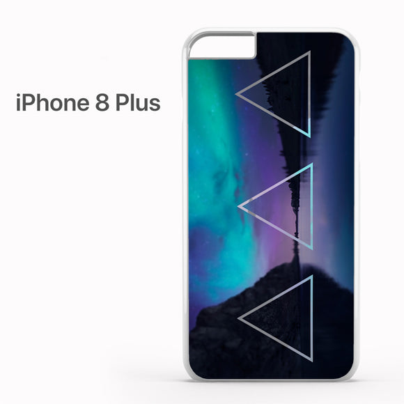 Triple Triangle Landscape - iPhone 8 Plus Case - Tatumcase